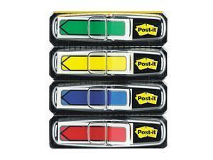 "Post-it                                  Arrow 1/2"" Flags, Four Colors, 24/Color, 2 96-Flag Dispensers/Pack"