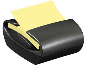 Post-it Pop-up Notes PRO330 Pop-up Notes Dispenser for 3 x 3 Self-Stick Pop-Up Notes, Black Base