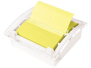 Post-it Pop-up Notes DS330-WH Clear Top Pop-up Note Dispenser for 3 x 3 Self-Stick Notes, White
