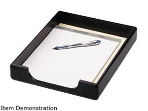 Rolodex 62523 Wood Tones Letter Desk Tray, Wood, Black
