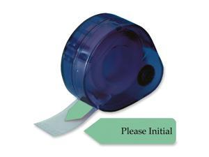 "Redi-Tag 81114 Arrow Page Flags in Dispenser, ""Please Initial"", Mint, 120 Flags/Dispenser"