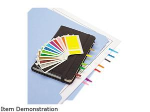 Redi-Tag 20205 Removable Page Flags, Four Assorted Colors, 900/Color, 3600/Pack