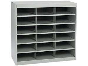 Steel Project Center Organizer, 18 Pockets, 37 1/2 x 15 3/4 x 36 1/2