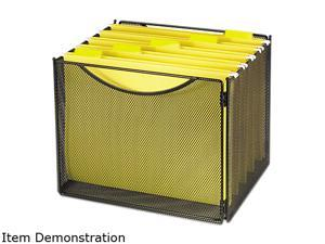 Safco Desktop Box File, Steel Mesh, 23w x 1 1/4d x 10 1/4h