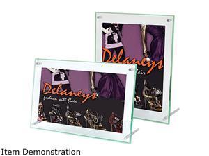 deflect-o 799693 Superior Image Beveled Edge Sign Holder, Acrylic, 11 x 8-1/2, Clear