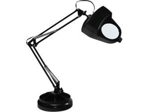 Ledu L9087 Full Spectrum Magnifier Desk Lamp, Black, 30 Inches High
