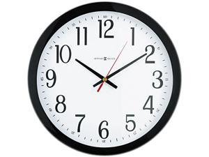 Howard Miller 625-166 Gallery Wall Clock, 16in, Black