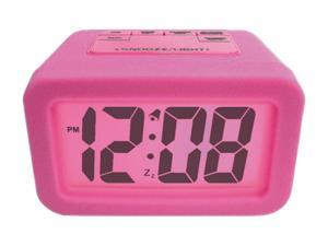 "Geneva Clock 6151AT Pink 1.25"" LCD Alarm Clock"