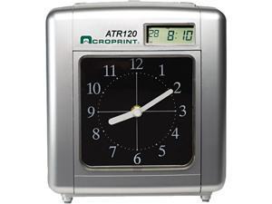 Acroprint 01-0212-000 Model ATR120 Analog/LCD Automatic Time Clock