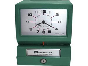 Acroprint 01-2070-40A Model 150 Heavy-Duty Analog Automatic Print Time Clock