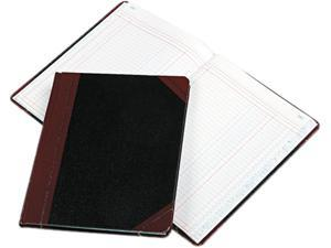 Boorum & Pease 21-150-2 Columnar Book, Two Column, Black Cover, 150 Pages, 10 3/8 x 8 1/8