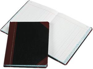 Boorum & Pease 38-300-J Record/Account Book, Journal Rule, Black/Red, 300 Pages, 9 5/8 x 7 5/8