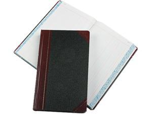 Boorum & Pease 9-500-J Record/Account Book, Journal Rule, Black/Red, 500 Pages, 14 1/8 x 8 5/8
