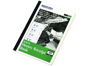 Rediform 8L816 Money Receipt Book, 2-3/4 x 7, Carbonless Duplicate, 400 Sets/Book