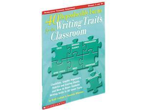 Scholastic 0439556848 Writing to Prompts, 40 Reproducible Forms, Grade 3+, Softcover, 64 pages