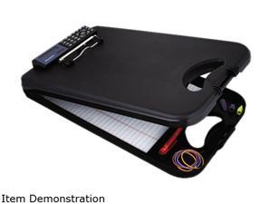 "Saunders 00534 DeskMate II w/Calculator, 1/2"" Capacity, 8-1/2w x 11-3/4h, Black"