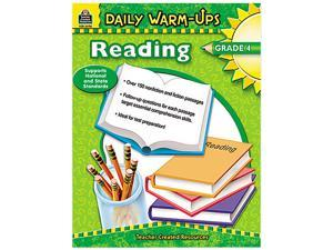 Teacher Created Resources 3490 Daily Warm-Ups: Reading, Grade 4, Paperback, 176 Pages