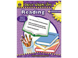 Teacher Created Resources 3492 Daily Warm-Ups: Reading, Grade 6, Paperback, 176 Pages