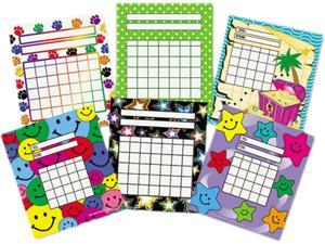 Individual Incentive Charts, 5-1/4 x 6, 6 Designs, 36/Each, 216/Pack