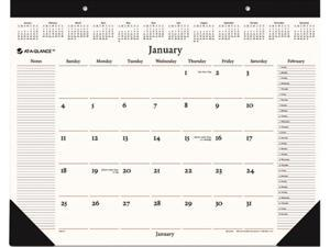 """AT-A-GLANCE SW201-00 Recycled Executive Desk Pad, 22"""" x 17"""""""