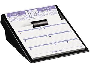 "AT-A-GLANCE SW700X-00 2014 Flip-A-Week Desk Calendar and Base, 5 5/8"" x 7"""