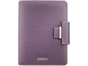 Day Runner 401-0214 Express Terramo Refillable Planner, 5-1/2 x 8-1/2, Eggplant