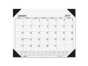 House of Doolittle 124 One-Color Refillable Monthly Desk Pad Calendar, 22 x 17