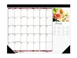 House of Doolittle™                      Beautiful Photographic Monthly Desk Pad Calendar, 18-1/2 x 13