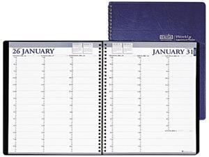 House of Doolittle 272-07 Professional Weekly Planner, 15-Minute Appointments, 8-1/2 x 11, Blue