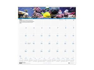 Sea Life Monthly Wall Calendar, 12 x 12