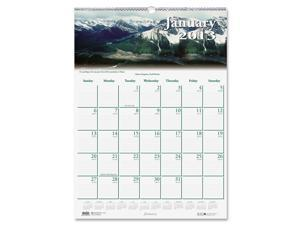 House of Doolittle 374 Scenic Beauty Monthly Wall Calendar, 15-1/2 x 22