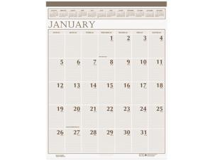"House of Doolittle Classic Wall Calendar Monthly - 20"" x 26"" - 1 Year - January till December - 2 Month Single Page Layout ..."