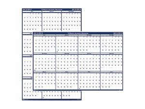 House of Doolittle™                      Poster Style Reversible/Erasable Yearly Wall Calendar, 18 x 24