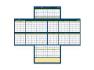 House of Doolittle 3974 Reversible Yearly Wall Planner, 60 x 26