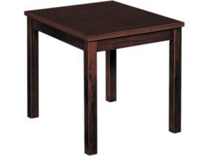 basyx BW3140N Occasional Table, Rectangular, 20w x 24d x 20h, Mahogany