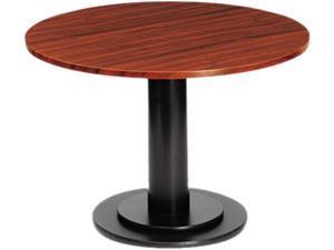 Iceberg 69135 OfficeWorks Single Column Base for Round Table Tops, 23-1/2w x 29h, Black