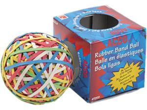 Acco 72155 Rubber Band Ball, Minimum 260 Rubber Bands