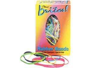 Alliance 07714 Brites Pic Pac Rubber Bands, Blue/Orange/Yellow/Lime/Purple/Pink, 1-1/2-oz Box
