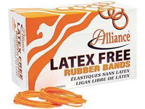 Alliance 37196 Latex-Free Orange Rubber Bands, Size 19, 3-1/2 x 1/16, 1750/Box