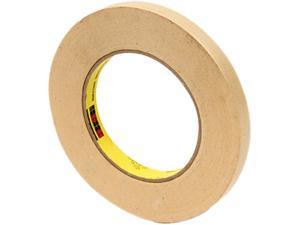 "Scotch 232-1/2 High Performance Masking Tape, 1/2"" x 60 yards, 3"" Core"