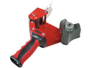 "3M                                       Pistol Grip Packaging Tape Dispenser, 3"" Core, Metal, Red"