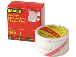 """Scotch 845-2 Book Repair Tape, 2"""" x 15 yards, 3"""" Core"""
