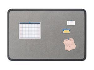 Iceberg                                  Ingenuity Fabric Board, Resin Frame, 48 x 36, Black