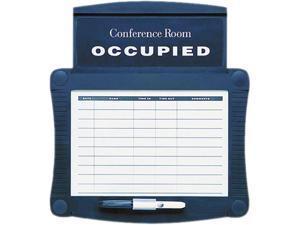 Quartet 995 Dry-Erase Conference Room Scheduler, 15 1/2 x 14 1/4, White, Gray Frame