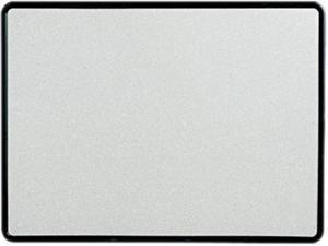 Quartet 699375 Contour Granite-Finish Tack Board, 48 x 36, Black Frame