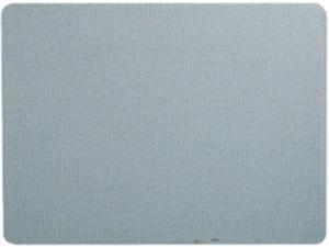 Quartet 7684BE Oval Office Fabric Bulletin Board, 48 x 36, Light Blue