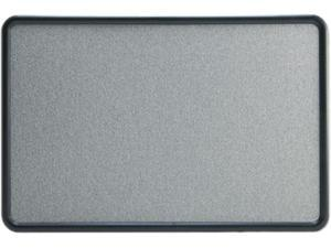 Quartet 7693G Contour Fabric Bulletin Board, 36 x 24, Gray, Plastic Graphite Frame
