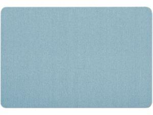 Quartet                                  Oval Office Fabric Bulletin Board, 36 x 24, Light Blue