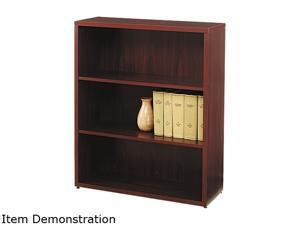 HON 105533NN 10500 Series Bookcase, 3 Shelves, 36w x 13-1/8d x 43-3/8h, Mahogany