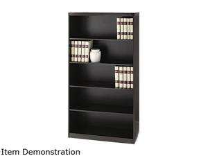 Tiffany Industries™ AB5S36LDC Aberdeen Series Bookcase, 5 Shelves, 36W X 15D X 68-3/4H, Chocolate